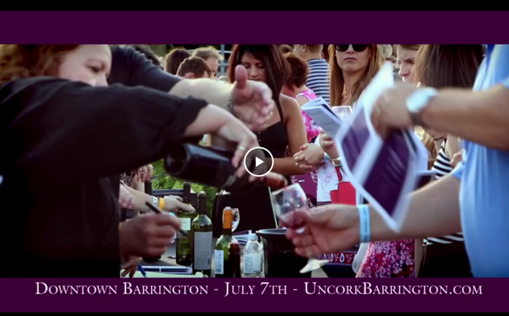Click to see Uncorked Barrington video